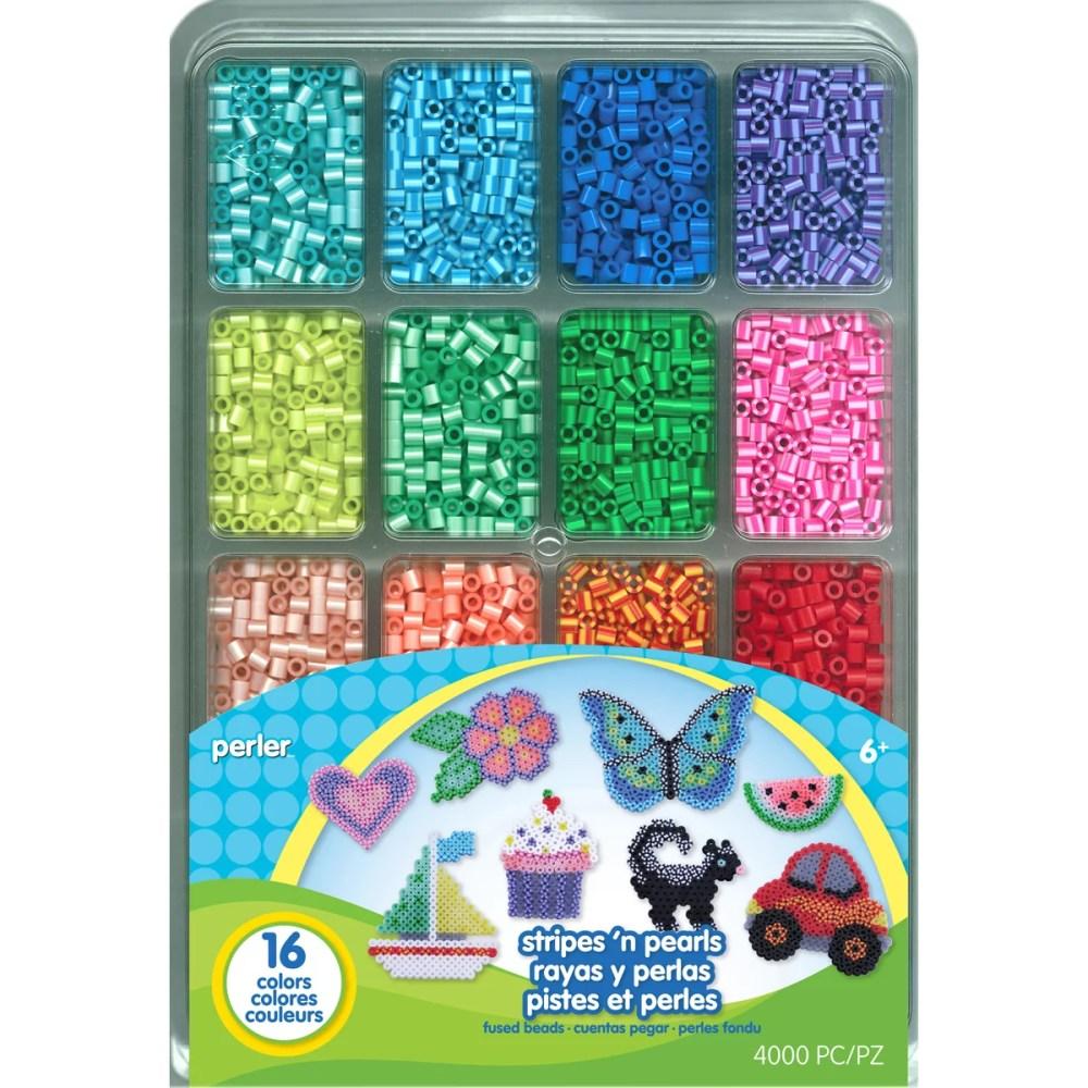 medium resolution of perler fused bead tray 4 000 pkg