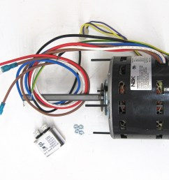 partsconnect hvac direct drive blower motor and capacitor pcd725 walmart com [ 1831 x 1506 Pixel ]