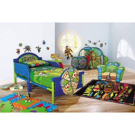 Nickelodeon Teenage Mutant Ninja Turtles Toddler Bedroom  Accessories Collection  Walmartcom