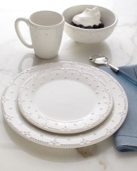 American Atelier 16-Piece Dinnerware Set - White - Walmart.com