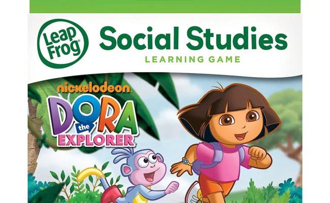 Leapfrog Explorer Leappad Learning Game Dora The