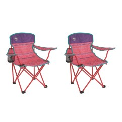 Coleman Rocking Chair Fuji Massage Kids Camping Glow In The Dark Pink Quad Chairs 2 Pack X 2000025293 Walmart Com
