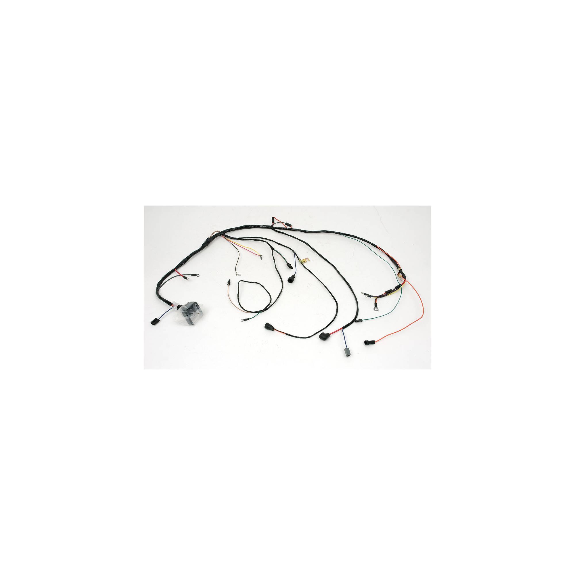 Eckler's Premier Products 50-203898 Chevelle Engine Wiring