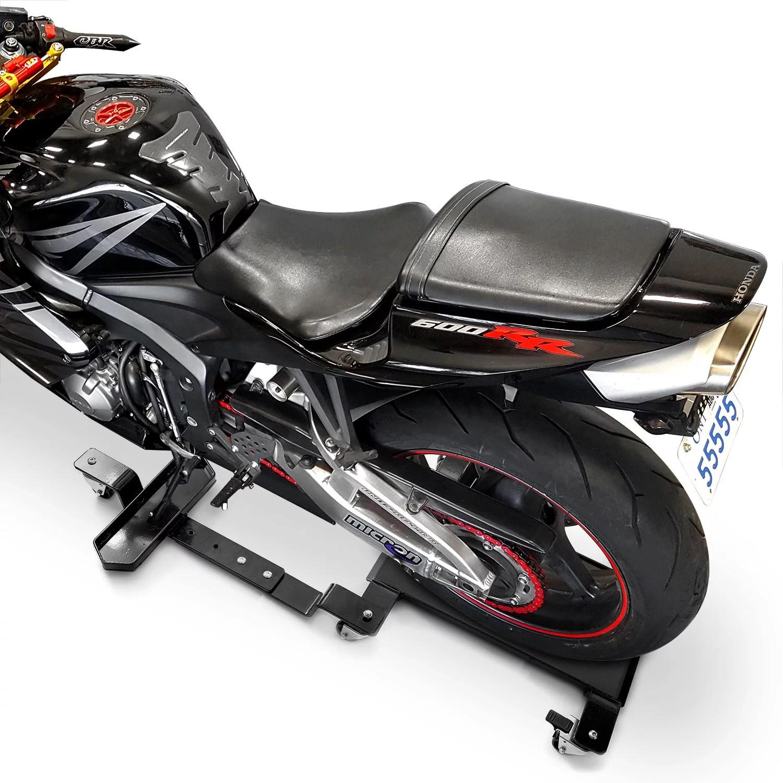 hight resolution of venom motorcycle mover dolly cruiser side stand for honda rebel fury scrambler custom hawk