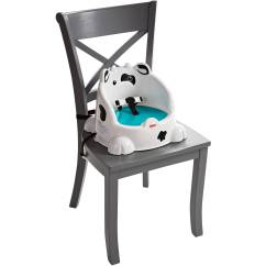 Booster Seat Or High Chair Which Is Better Swivel Child Table Time Cow Baby Toddler 887961284133 Ebay