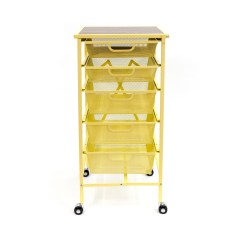 Kitchen Cart With Drawers Small Scale Origami 5 Drawer Walmart Com