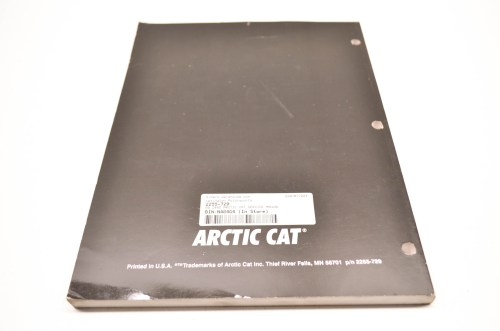 small resolution of arctic cat z 440 wiring diagram