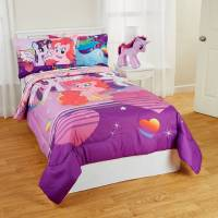 My Little Pony 'Pony Fied' Kids Bedding Twin Bed-in-a-Bag ...