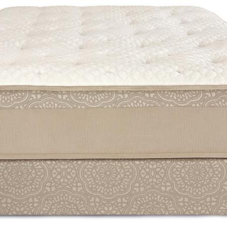 Chattam Wells Split King Hamilton Luxury Firm Mattress Low Profile Set