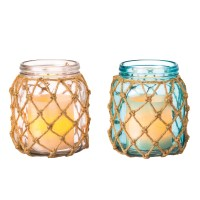 Cypress Home Glass Float Candle Holders, Set of 2 ...