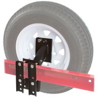 Boat and Utility Trailer Spare Tire Carrier 4 or 5 Lug ...