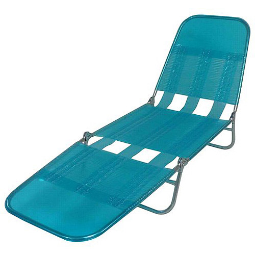 Mainstays Folding PVC Lounge Chair