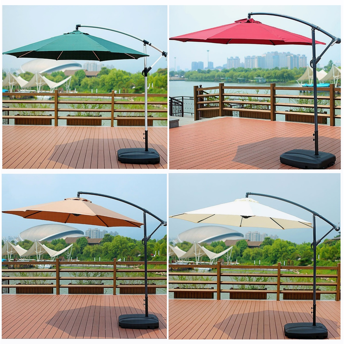 118inch waterproof sunshade beach umbrella fabric cloth canopy parasol tent cover patio garden outdoor not include stand holder