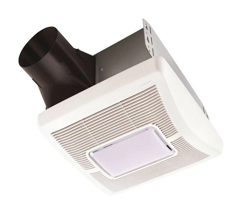 Broan Flex Series 70 Cfm Ceiling Roomside Installation Bathroom Exhaust Fan With Light Walmart Com Walmart Com