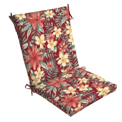 Chair Cushions Outdoor Swing Plastic Arden Selections Ruby Clarissa Tropical 44 X 20 In Cushion Walmart Com