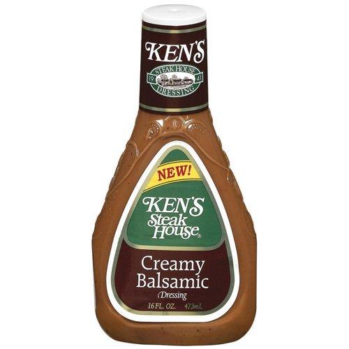 Kens Steak House Creamy Balsamic Dressing 16 oz Walmartcom