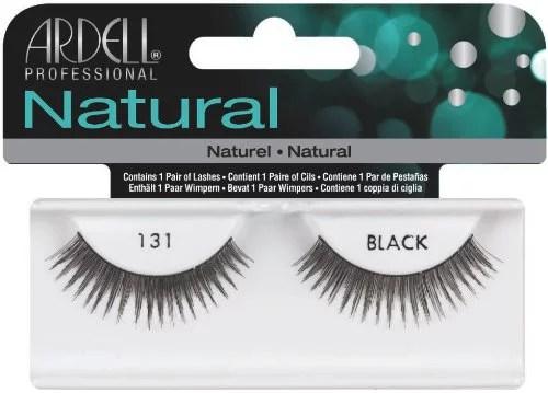 Ardell Fashion Lashes False Eyelashes  131 Black Pack