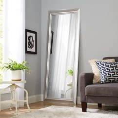 Full Length Mirror In Living Room Themes For Rooms Better Homes And Gardens 27 X 70 Silver Leaner Walmart Com