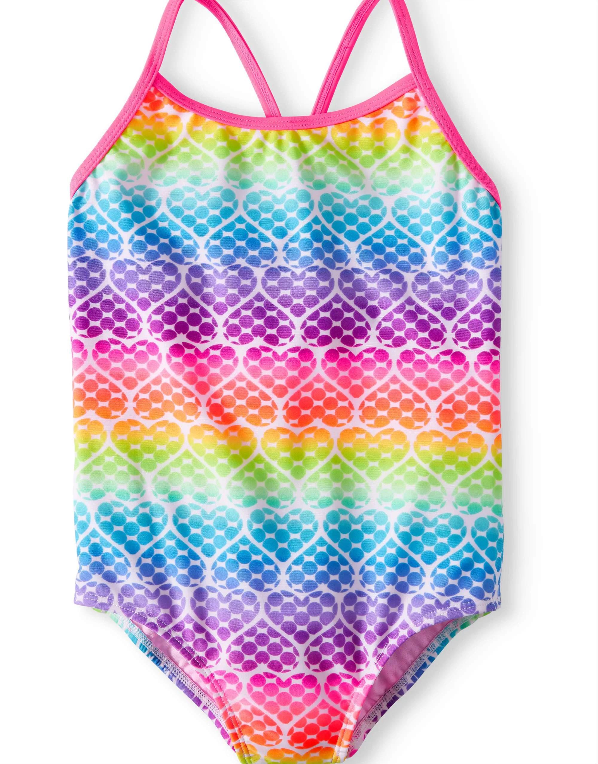 big girls swimwear walmart