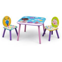 Doc Mcstuffins Erasable Activity Table And Chair Set Blue Canvas Director Covers Australia