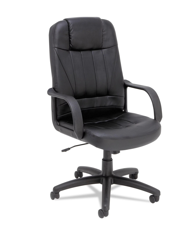 alera office chairs rattan dining argos sparis series executive leather high back swivel tilt chair black walmart com