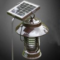 Outdoor Garden Solar Powered Electricity Mosquitoes Moths