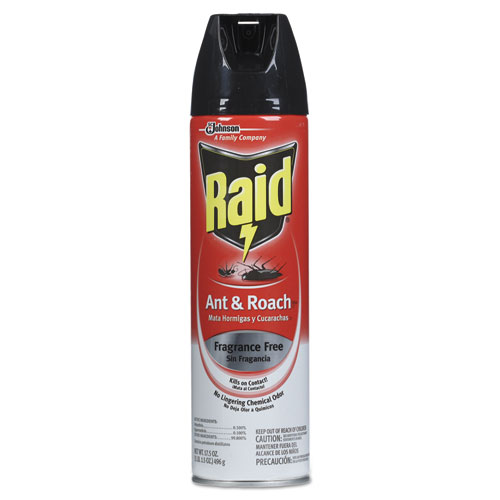 Raid Ant And Roach Aersol Unscented 175 oz Walmartcom