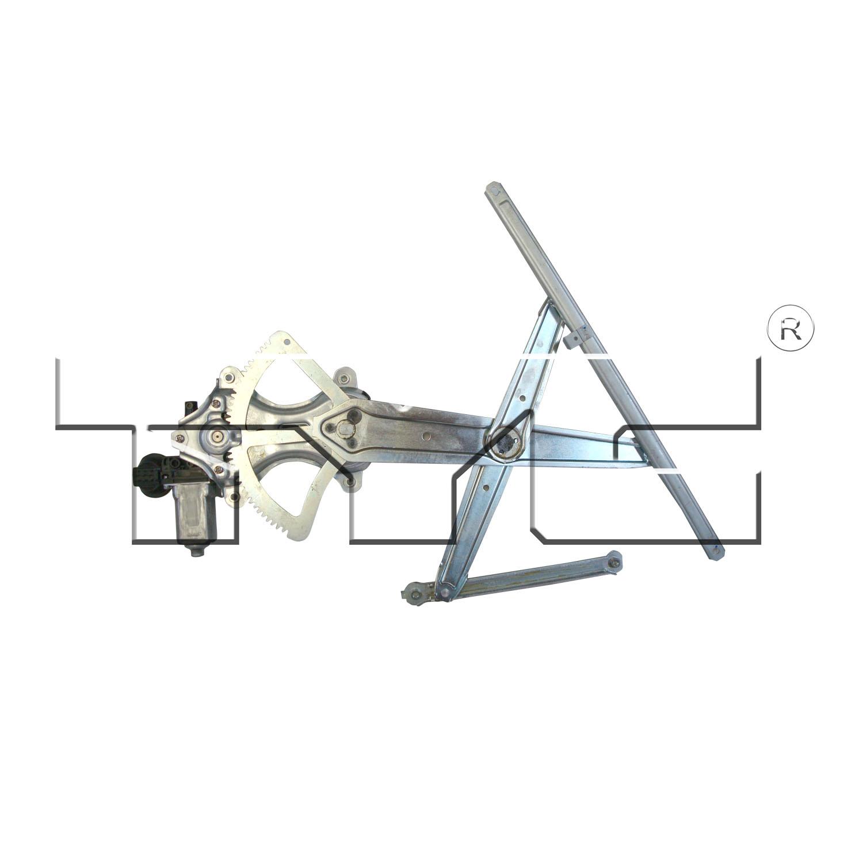 03-09 Lexus GX-470 Power (G;AP) Window Regulator Assembly