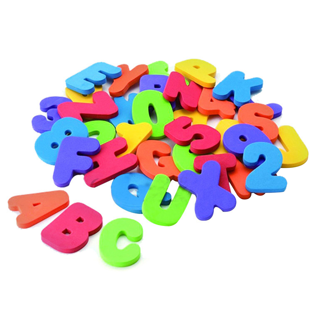36Pcs Baby Bath Toy Set Outgeek Creative Foam Letters