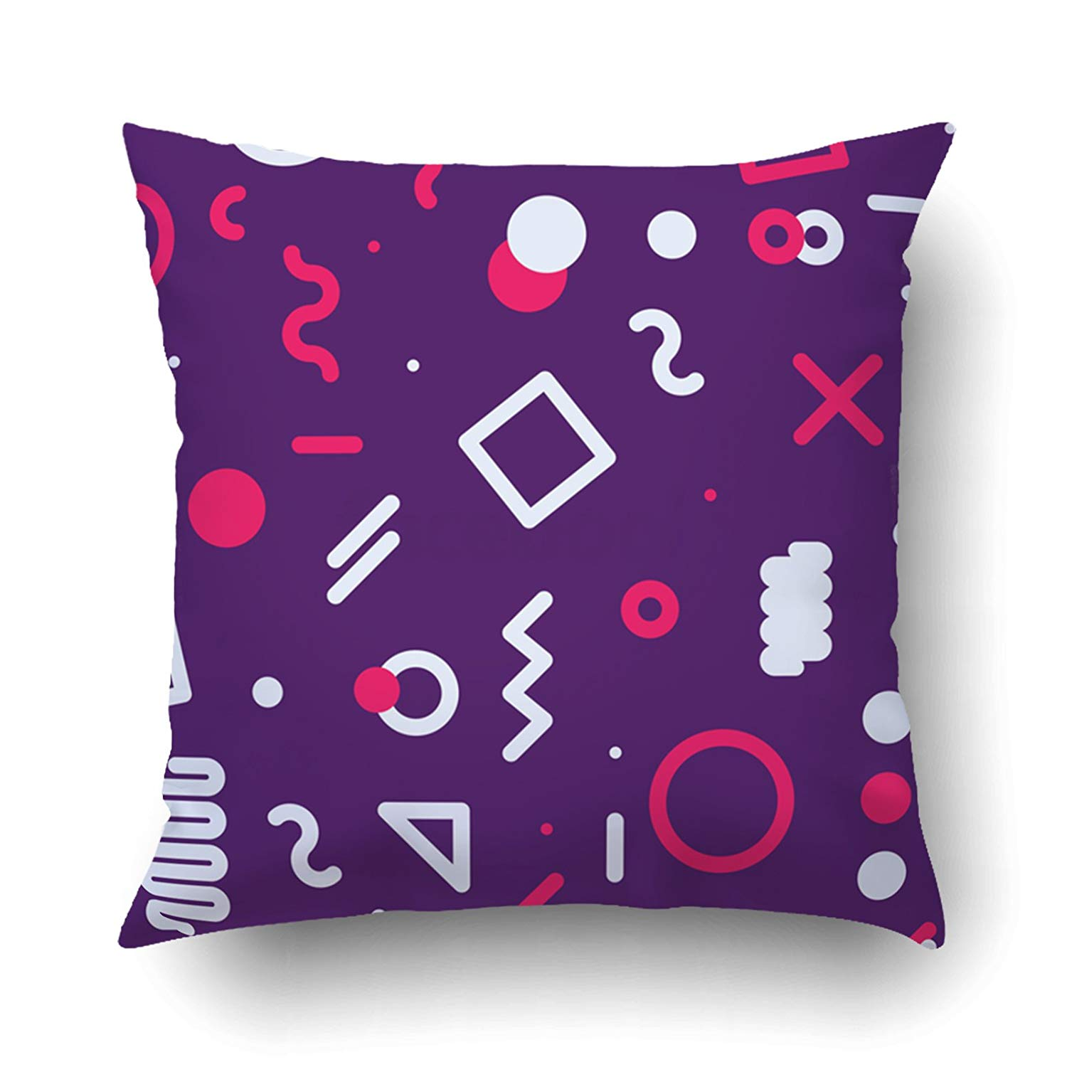 bright colored sofa pillows kebo futon bed instructions bpbop cheerful pattern memphis style for fashion