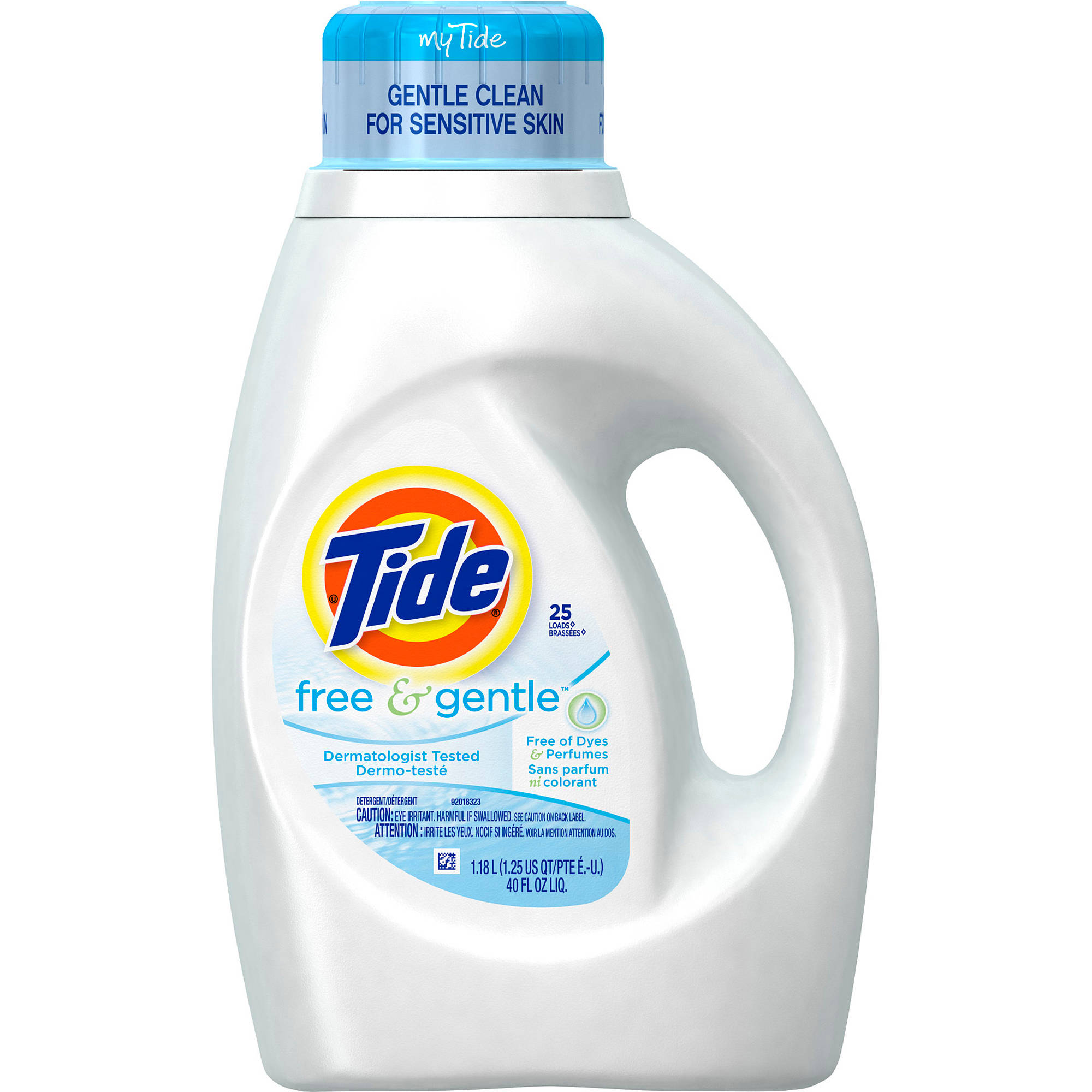 Tide Free and Gentle Liquid Laundry Detergent Choose