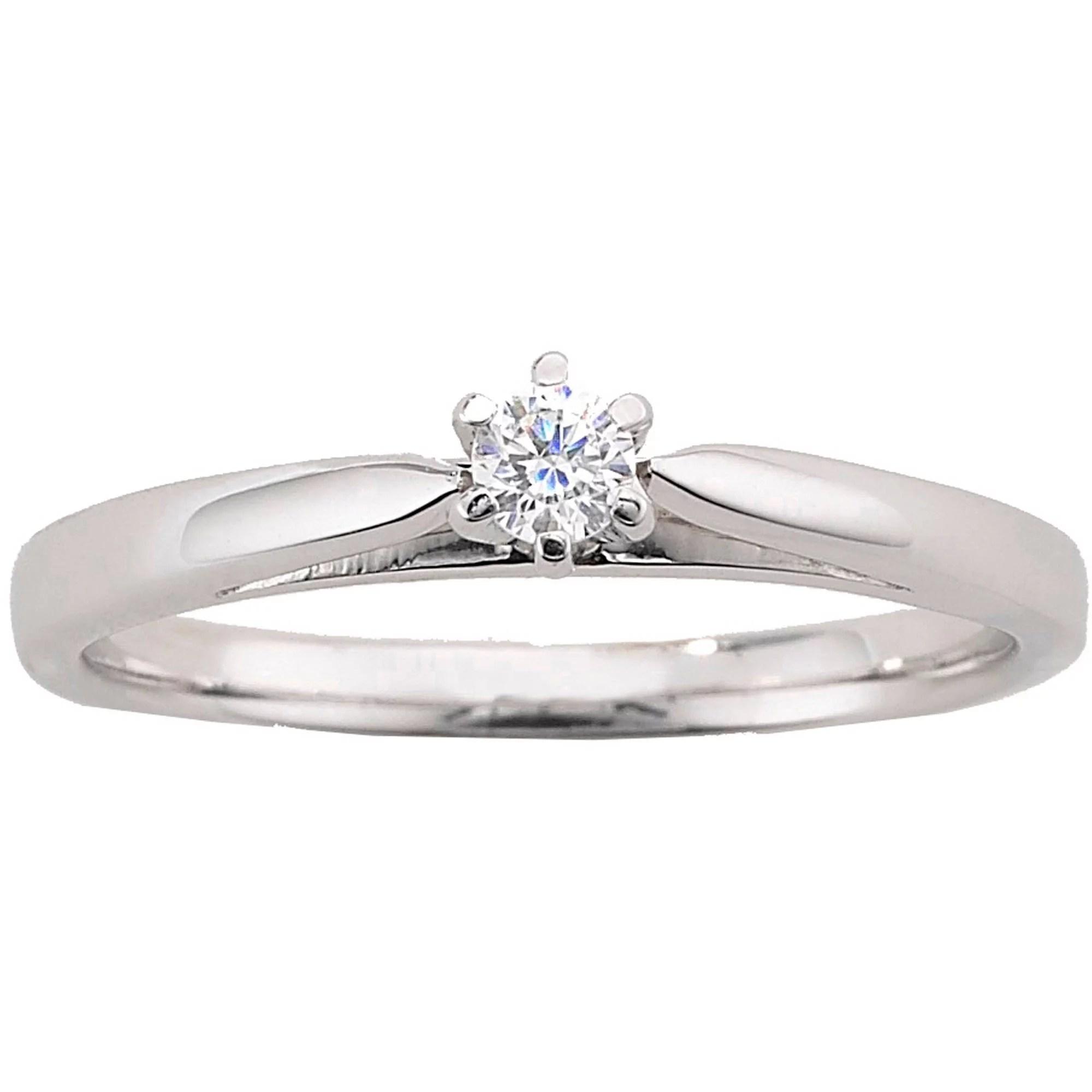 Always & Forever Platinaire 1/12 Carat Diamond Round