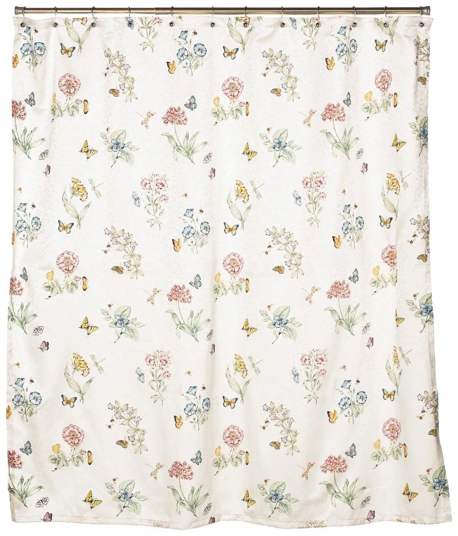 Lenox Butterfly Meadow Shower Curtain  Walmartcom