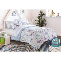 Mainstays Kids Pretty Horses Bed in a Bag Bedding Set ...