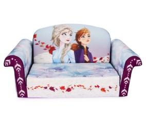 Marshmallow Furniture 2 In 1 Flip Open Couch Bed Kids Disney S Frozen 2 Walmart Com Walmart Com