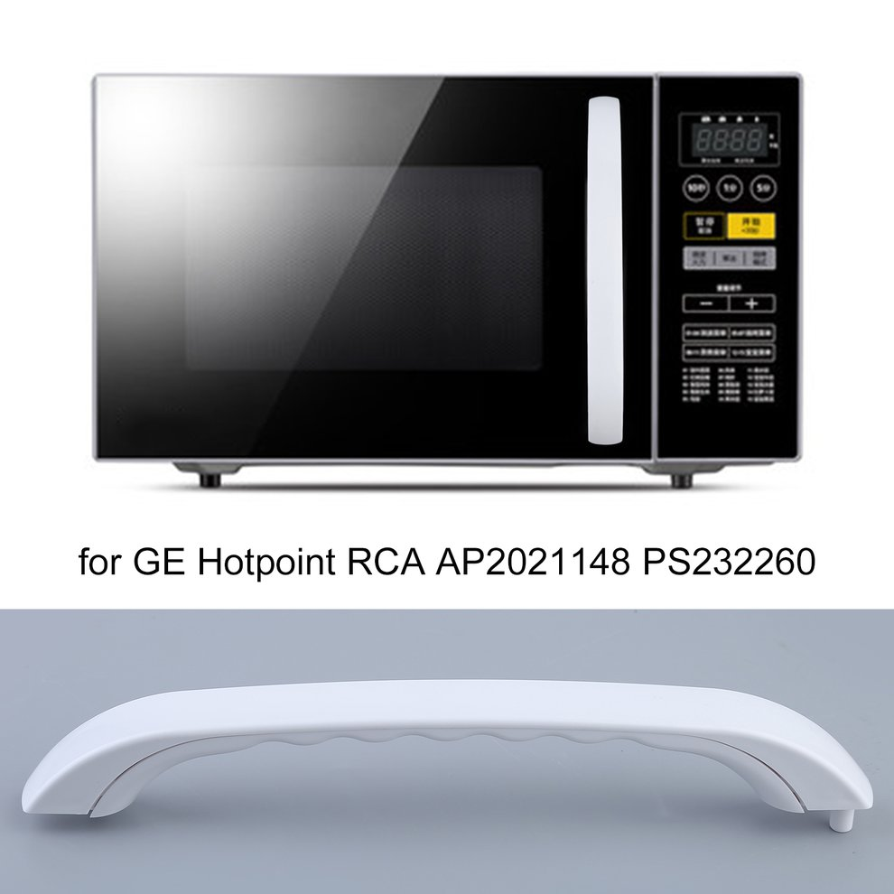 newest white microwave oven assembly door handle replacement accessories for ge for hotpoint rca ap2021148 ps232260