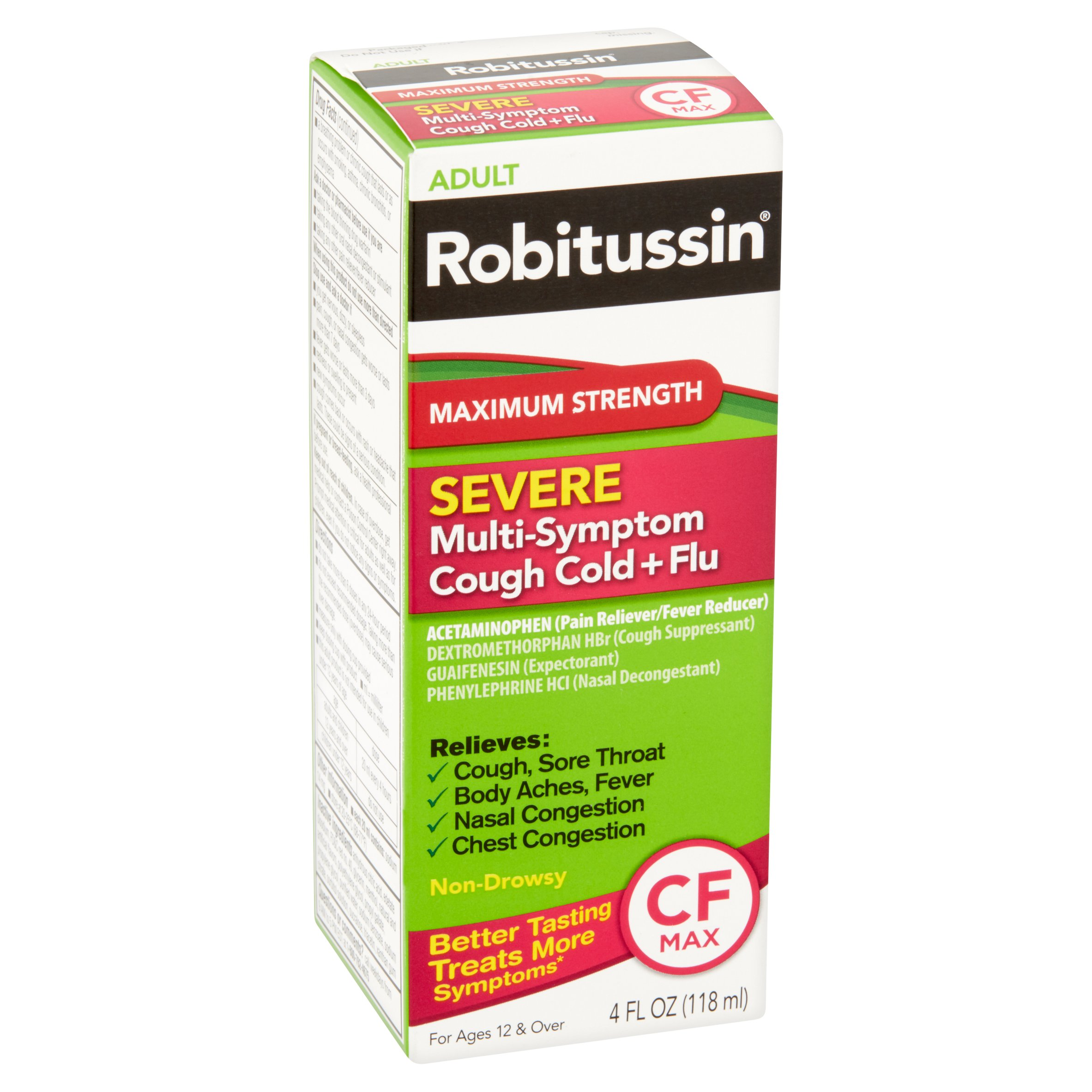 Can you take benadryl with robitussin cf / Please turn ...
