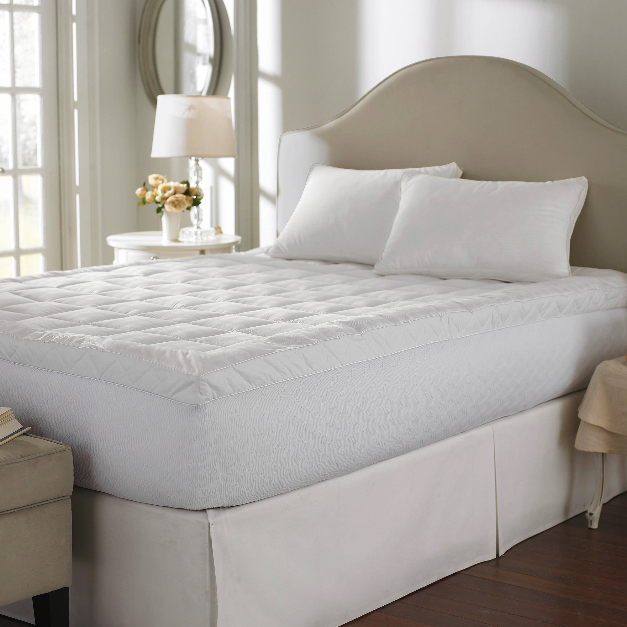 Cuddle Bed 400TC 25 inch Cotton Mattress Topper in
