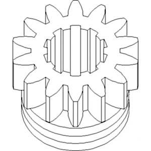A29385 VT4022 New PTO Drive Gear Made for Case-IH Tractor