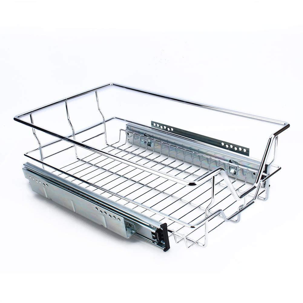 kitchen wire storage decorative chalkboard for sliding cabinet organizer pull out chrome basket drawer cabinets 10 4 17 3 5 walmart com