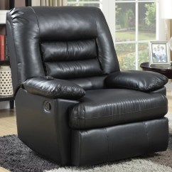 Big And Tall Living Room Furniture 2 Couch Serta Memory Foam Massage Recliner Multiple Colors In Faux Leather Walmart Com