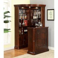 Furniture of America Wolfgang Home Bar Cabinet - Walmart.com