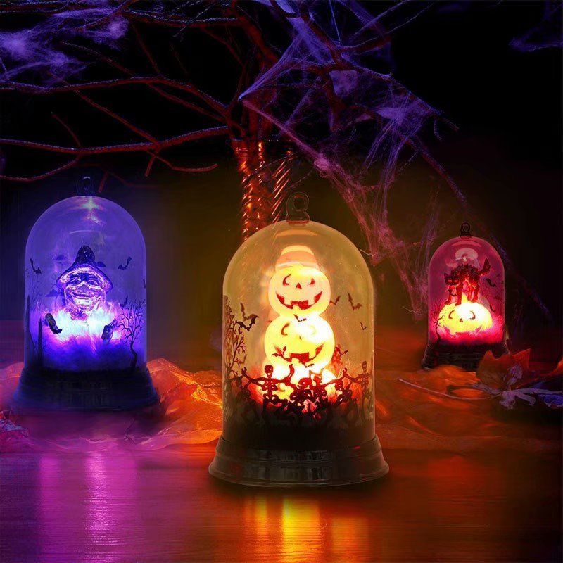 Victsing Halloween Decoration Lights Pumpkin Snowman Candle Witch Color Changing Flash Ghost Night Light Battery Powered Lights For Halloween Party Decorations Walmart Canada