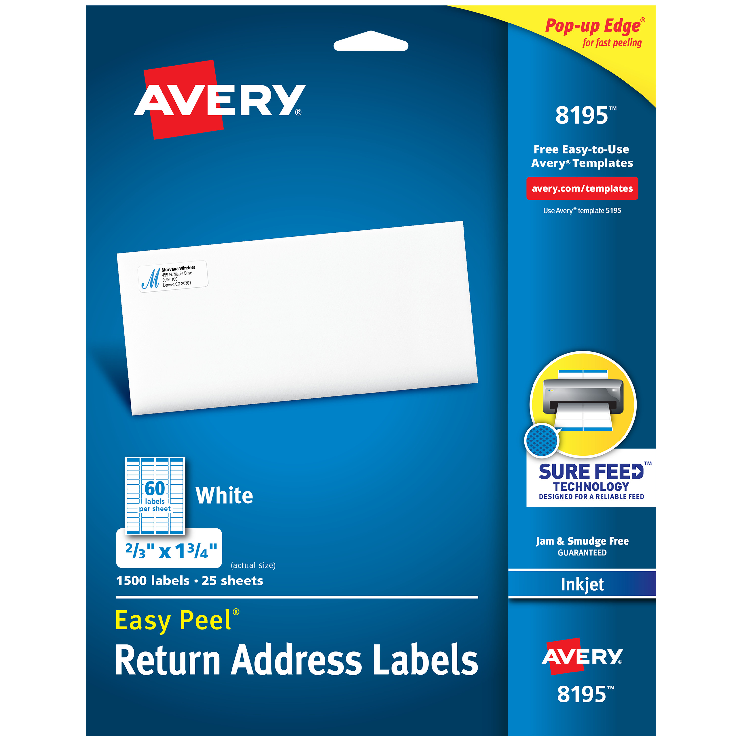 avery return address labels