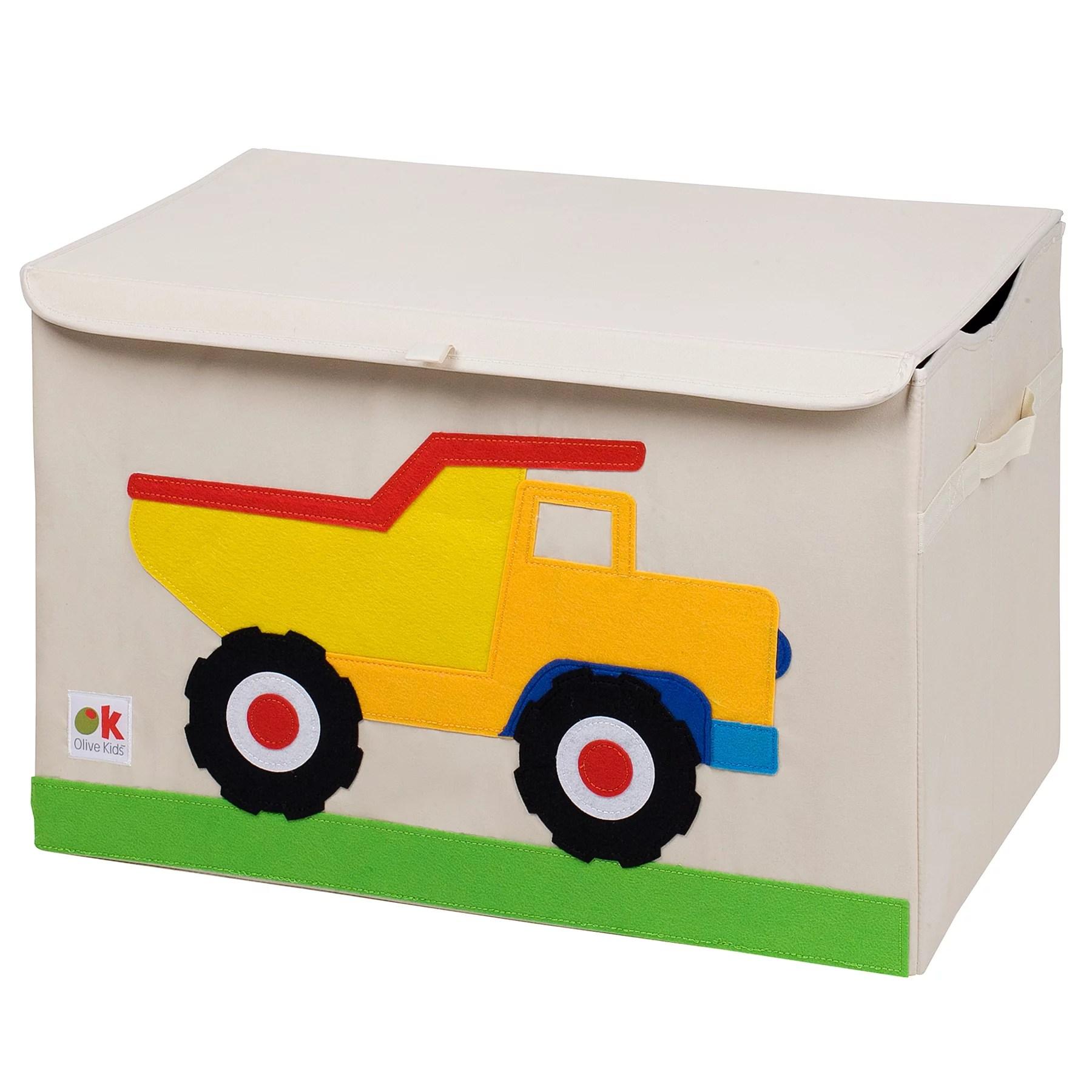 Olive Kids Dump Truck Toy Chest Walmart