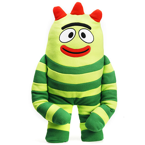 Pillow Yo Gabba Gabba Brobee Cuddle Cushion New Gift