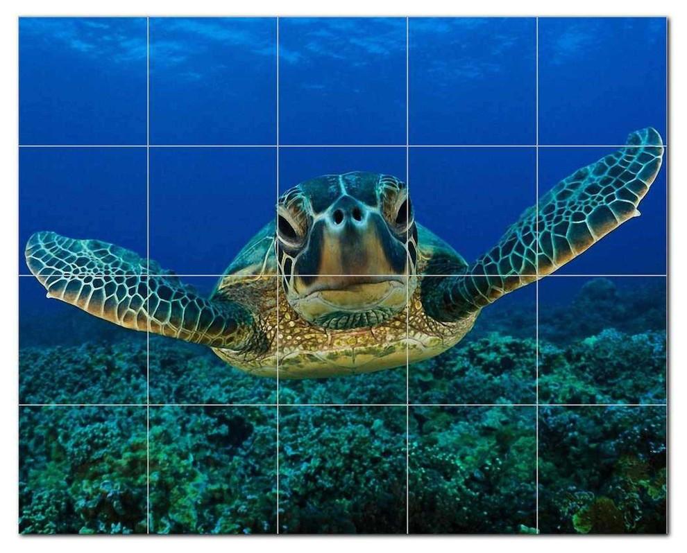 turtle ceramic tile mural kitchen backsplash bathroom shower 402936 m54