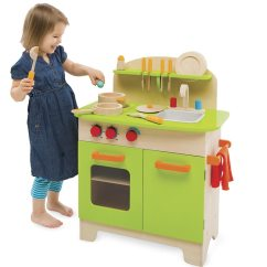Hape Kitchen Stainless Faucet Deluxe Play Set W Dish Walmart Com