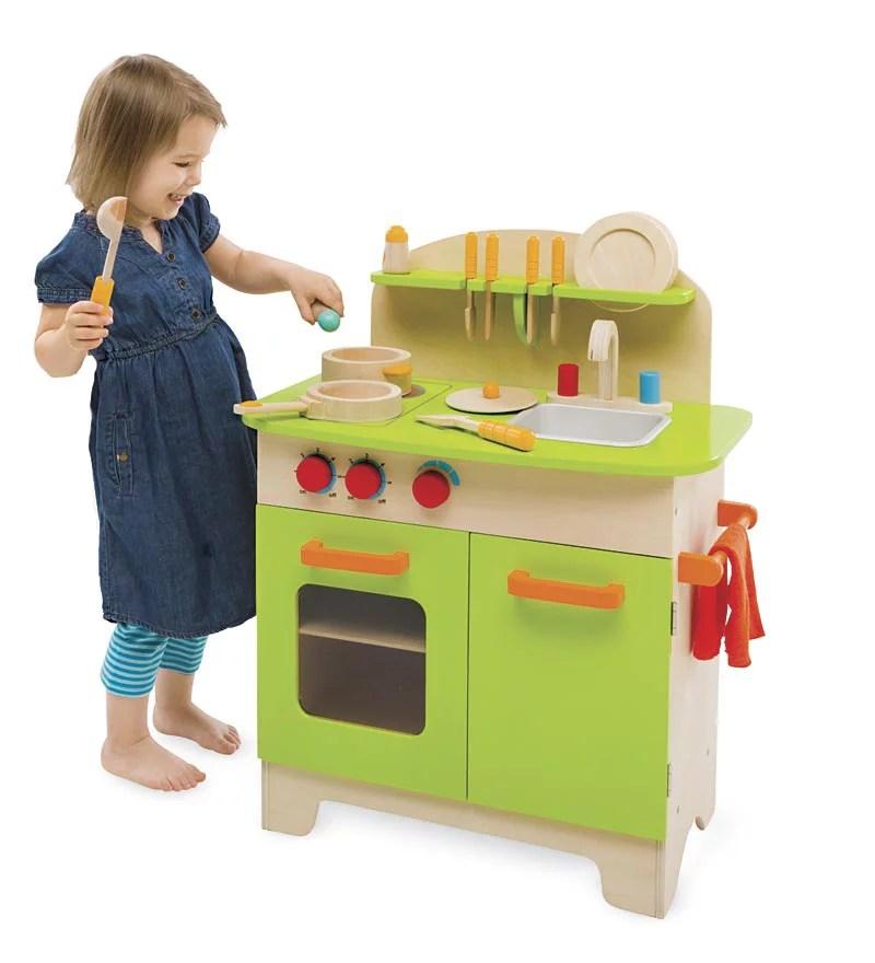 hape kitchen commercial hood parts deluxe play set w dish walmart com