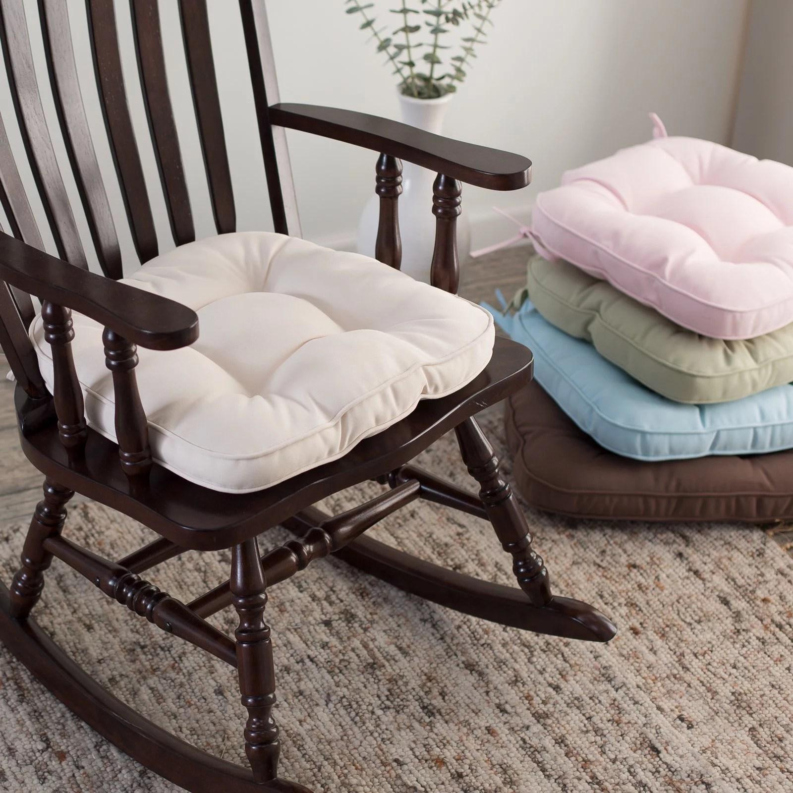 pink nursery rocking chair acme all star soccer 2 piece and ottoman set deauville 18 x 19 tufted rocker cushion walmart com